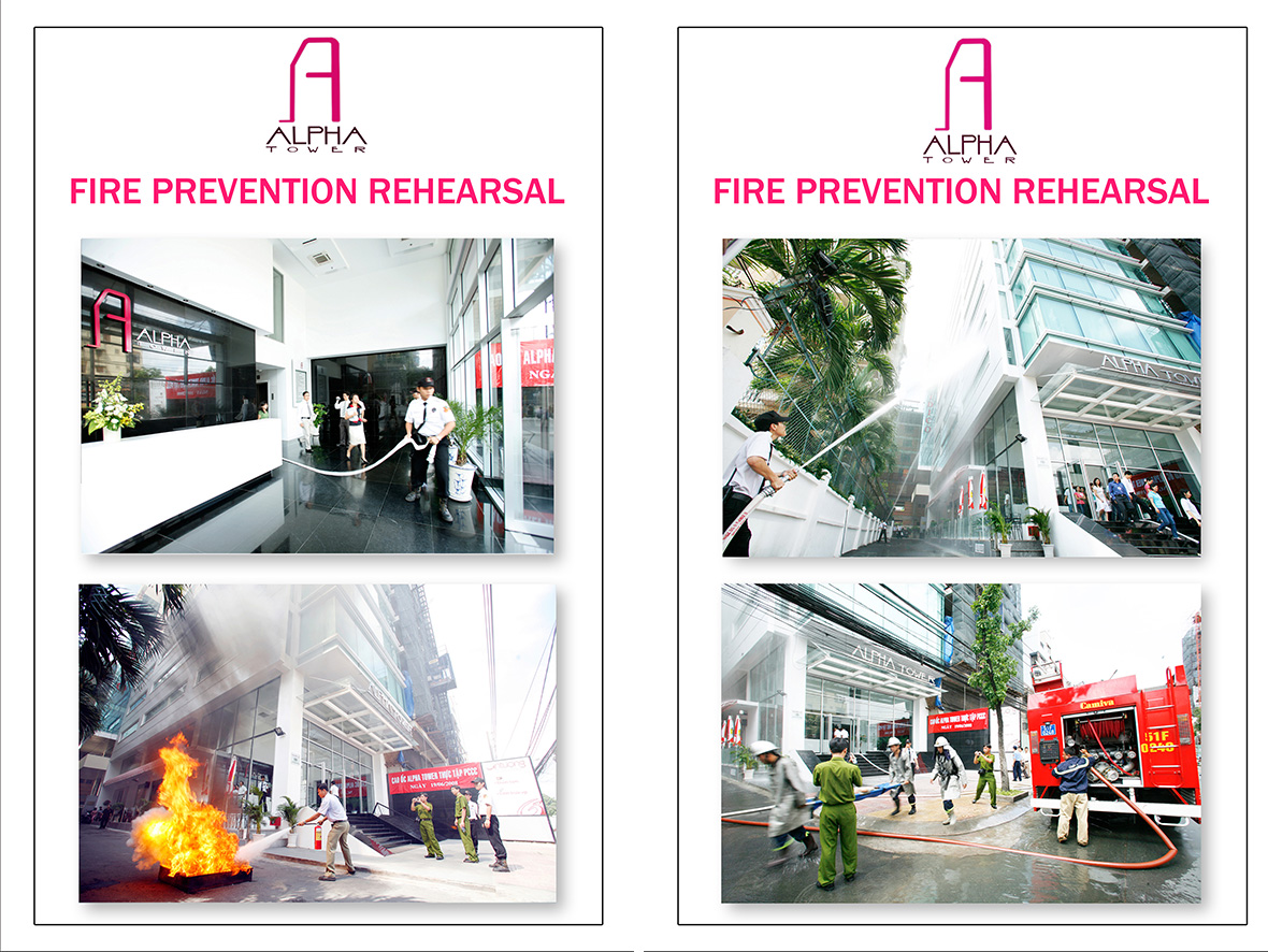 fire prevention rehearsal